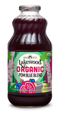 Load image into Gallery viewer, Organic Pom Blue Blend (32 oz, 6 pack)