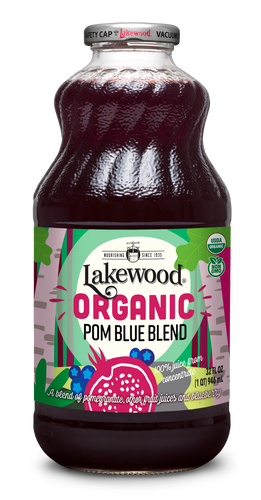 Organic Pom Blue Blend (32 oz, 6 pack)