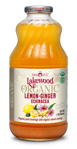 Organic Lemon-Ginger Echinacea Blend (32 oz, 6 pack)
