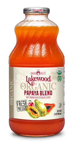 Organic Papaya Blend (32 oz, 6 pack)