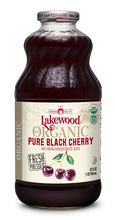 Load image into Gallery viewer, Organic PURE Black Cherry (32 oz, 6 pack)