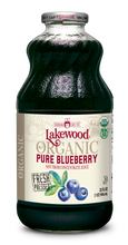Load image into Gallery viewer, Organic PURE Blueberry (32 oz, 6 pack)