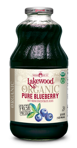 Organic PURE Blueberry (32 oz, 6 pack)