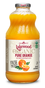 Organic PURE Orange (32 oz, 6 pack)