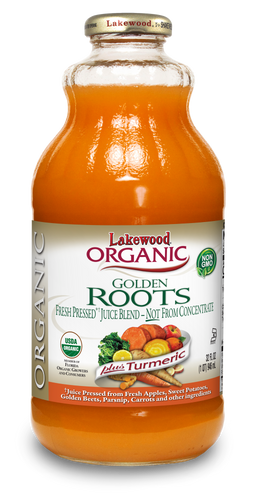 Organic Golden Roots Blend, (32 oz, 6 pack) Fresh Pressed®