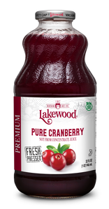 Premium PURE Cranberry (32 oz, 6 pack)