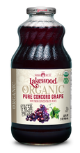 Load image into Gallery viewer, Organic PURE Concord Grape (32 oz, 6 pack)
