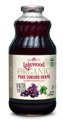 Organic PURE Concord Grape (32 oz, 6 pack)