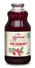 Load image into Gallery viewer, Organic PURE Cranberry (32 oz, 6 pack)