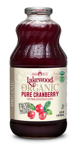 Organic PURE Cranberry (32 oz, 6 pack)