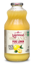 Load image into Gallery viewer, Organic PURE Lemon (32 oz, 6 pack)