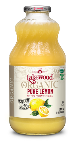 Organic PURE Lemon (32 oz, 6 pack)