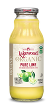 Load image into Gallery viewer, Organic PURE Lime (12.5 oz, 12 pack)