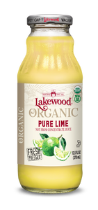 Organic PURE Lime (12.5 oz, 12 pack)
