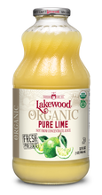 Load image into Gallery viewer, Organic PURE Lime (32 oz, 6 pack)
