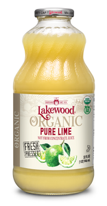 Organic PURE Lime (32 oz, 6 pack)