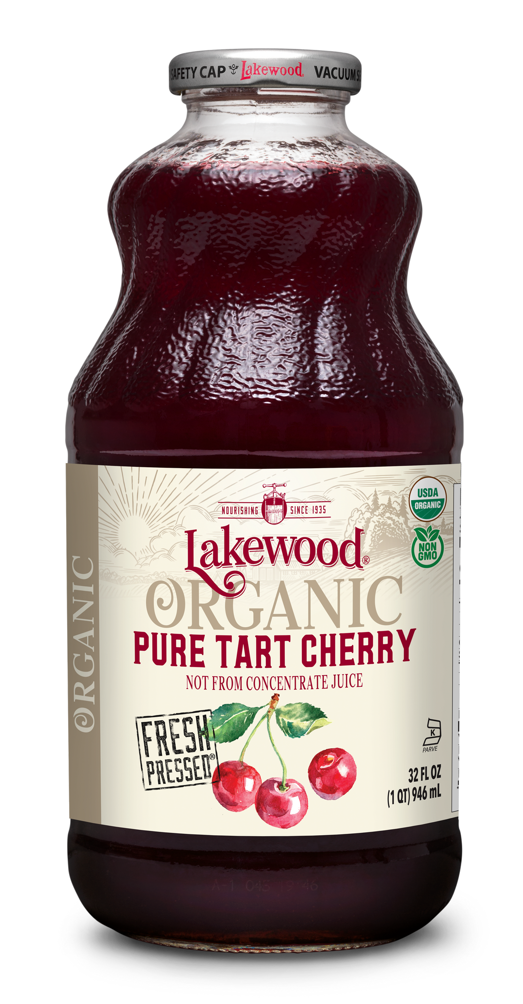 Organic PURE Tart Cherry (32 oz, 6 pack)