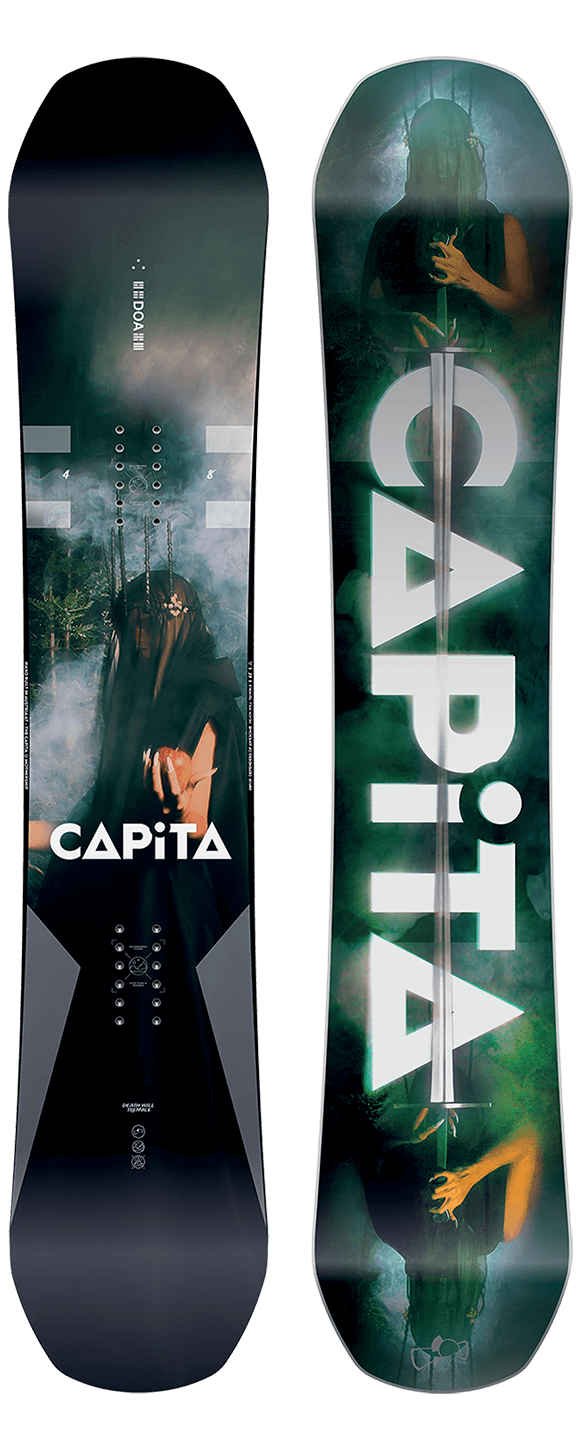 Capita Doa Snowboards are in and ready to ship