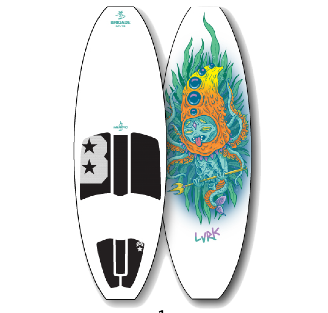 Shop the Lurk Wakesurf board at 88 Gear water sports