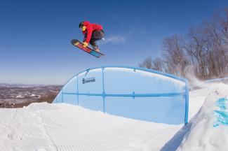 Learn to Snowboard New Years Resolution