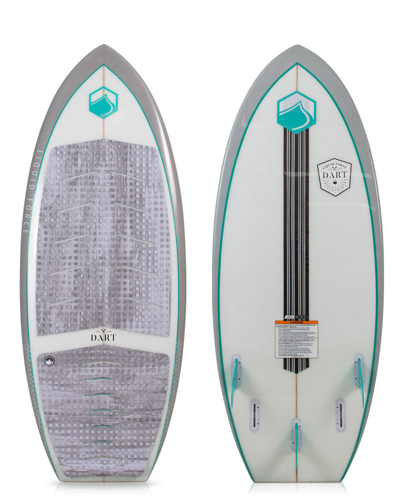 Liquid Force Dart Wakesurf Board lots of fin options
