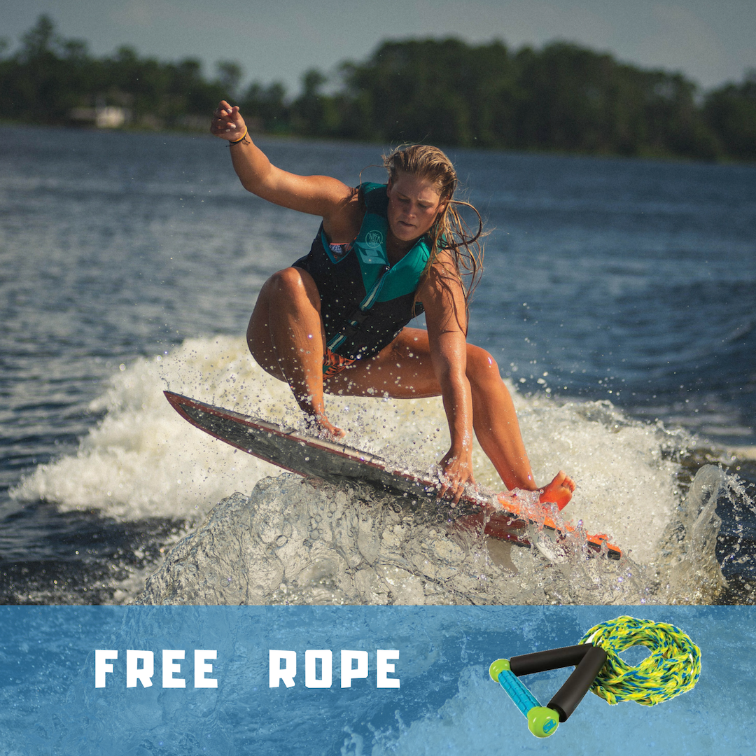 Free Rope with wakesurf boards