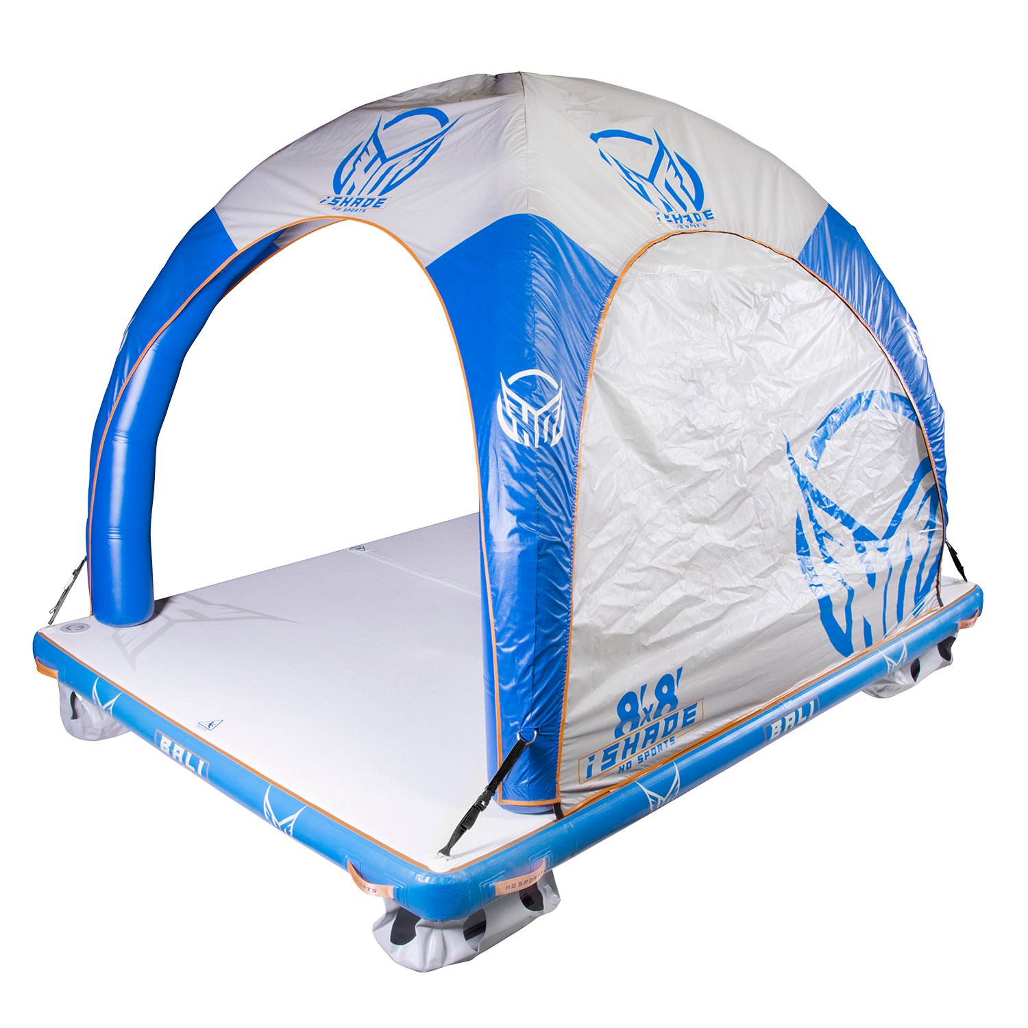 ishade water tent for inflatable water mats at 88 Gear