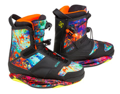 Ronix Closed Toe Wakeboard bindings