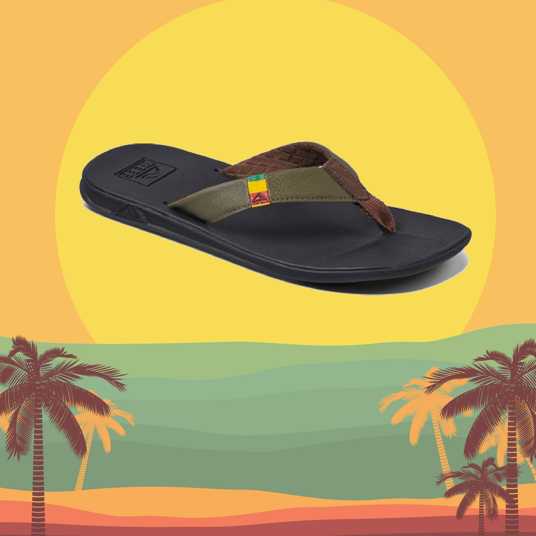 Men's Sandals and Flip Flops - reef and Sanuk Footwear