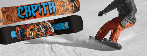 Capita all mountain and park snowboards on sale at 88 Gear