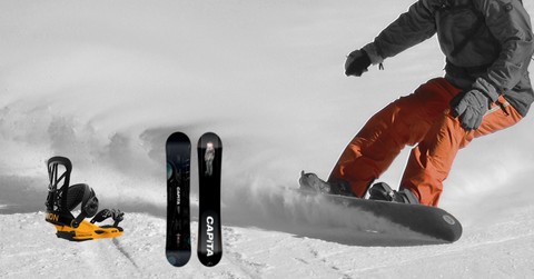 Capita and Union Snowboard Package Save 10%