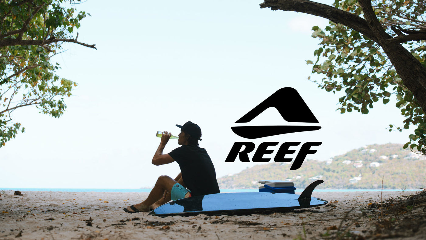 Shop Reef Fanning Sandals at 88 Gear