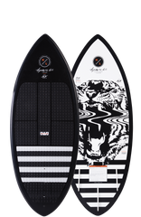 hyperlite wakesurf board with foot straps