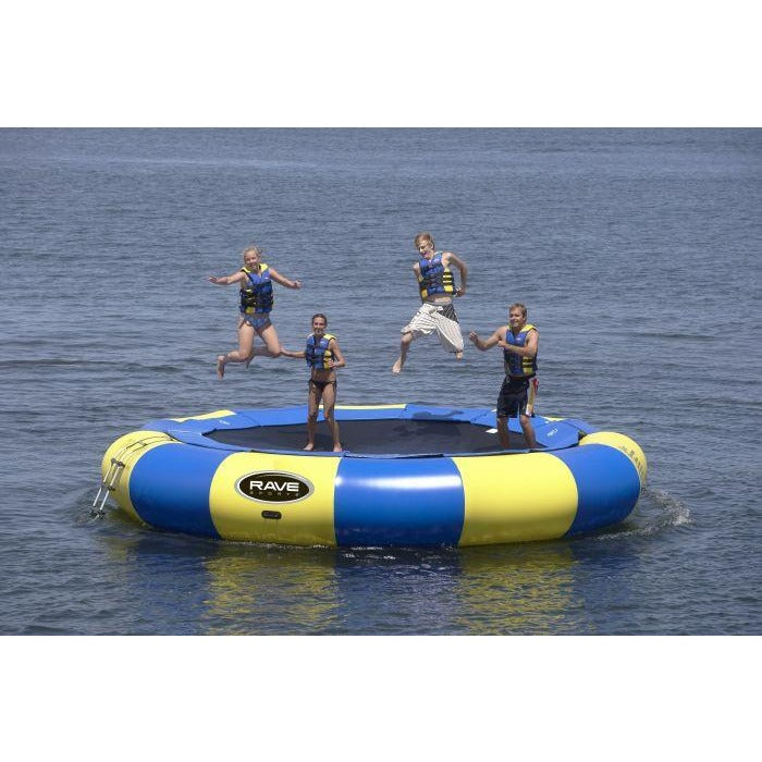 Rave Aqua Jump Water Trampoline 20 ft - 88 Gear