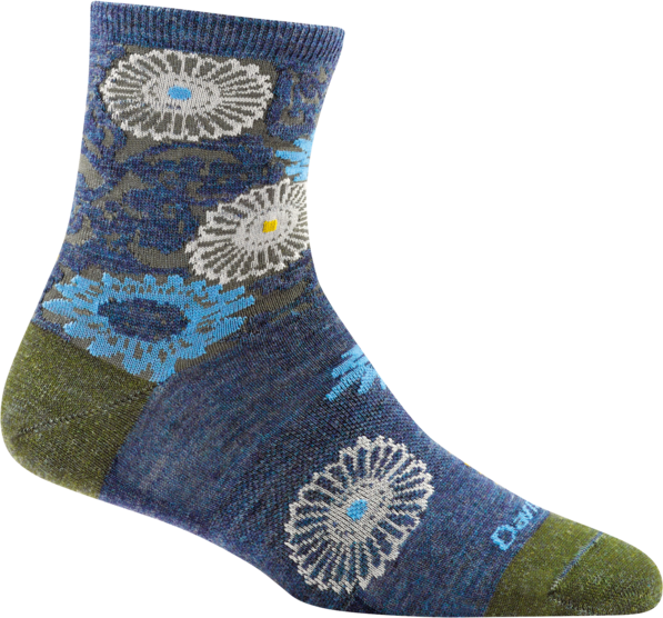 Darn Tough Floral Shorty Light Socks - 88 Gear