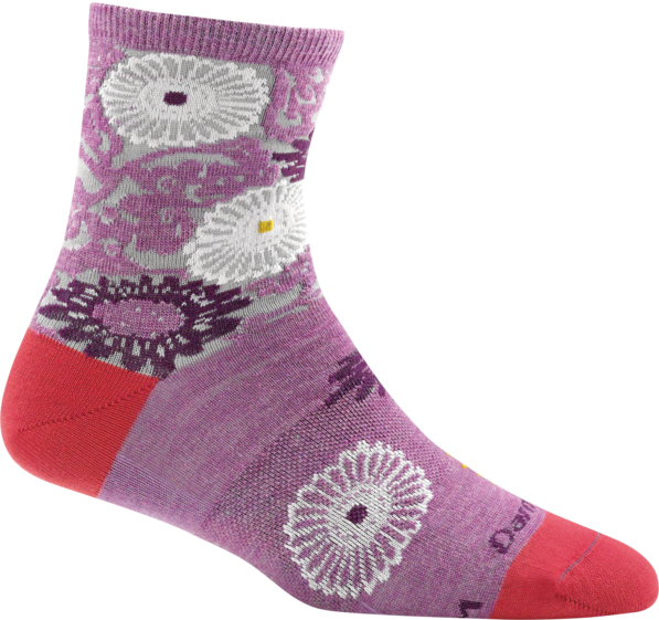 Darn Tough Floral Shorty Light Socks