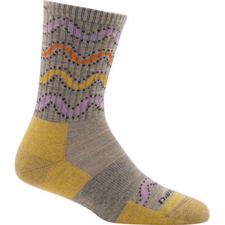 Darn Tough Wandering Stripe Micro-Crew Light Cushion Women's Socks