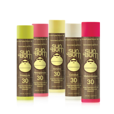 Sun Bum SPF Lip Balm Multi Pack