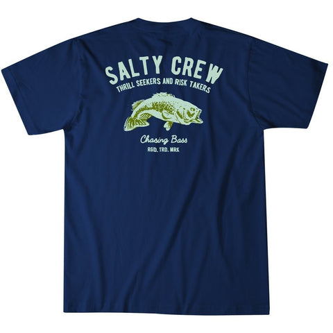 Salty Crew Bass Stamp T-Shirt