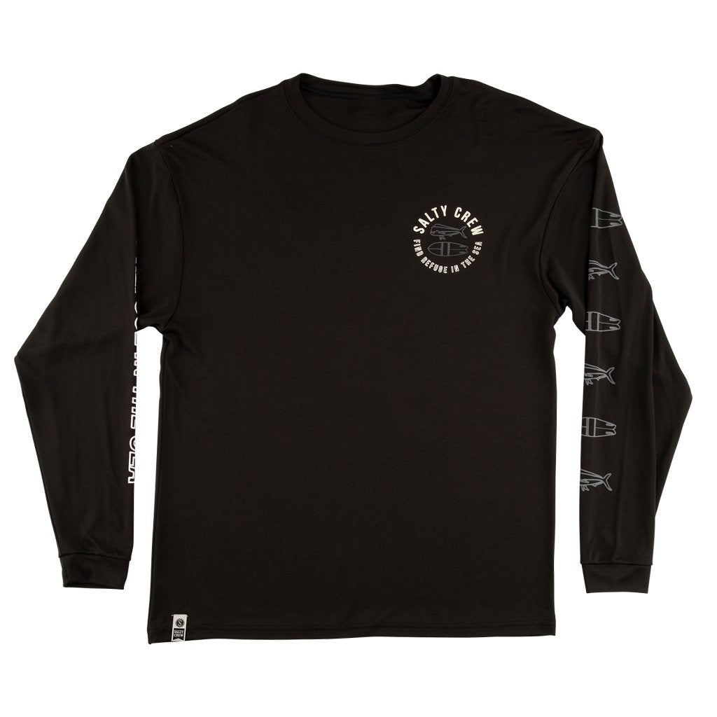 Salty Crew Pescador Long Sleeve Tech Shirt - 88 Gear