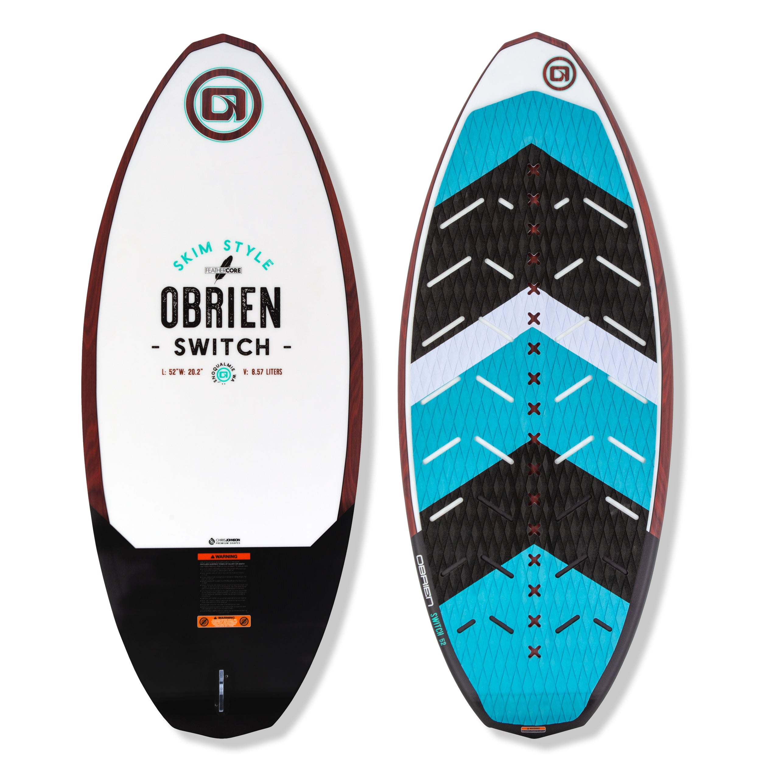 O'Brien Switch Wakesurf Board 2020 - 88 Gear