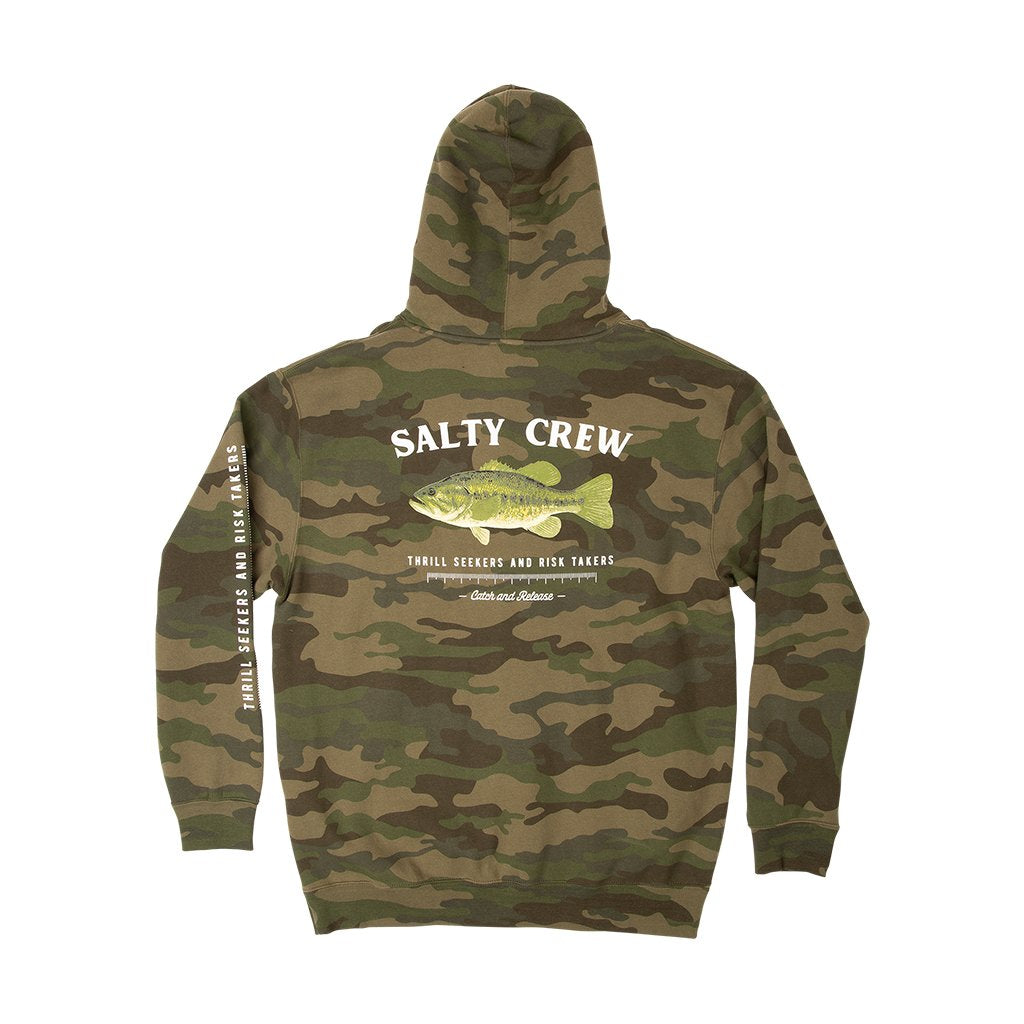 Salty Crew Big Mouth Camo Hoodie - 88 Gear