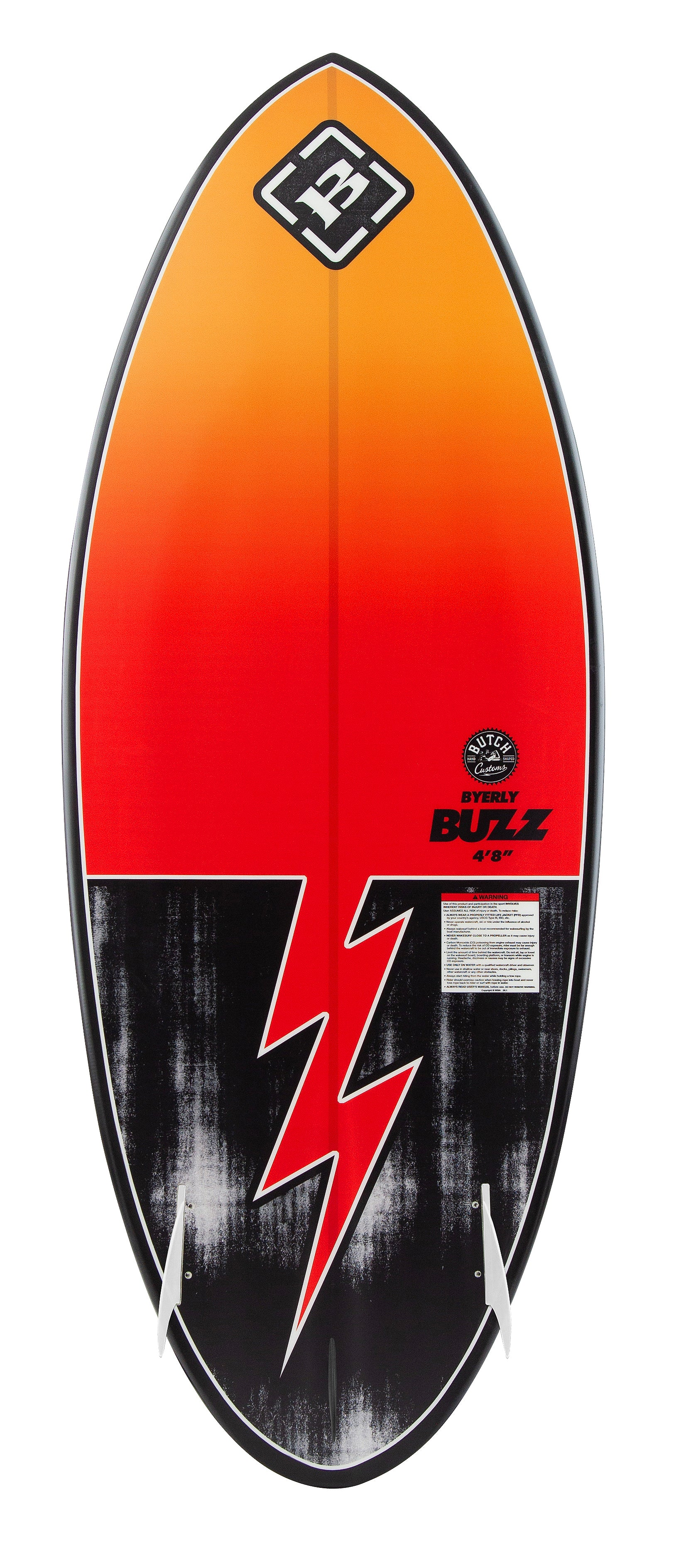 Byerly Buzz Wakesurf Board 2020 - 88 Gear