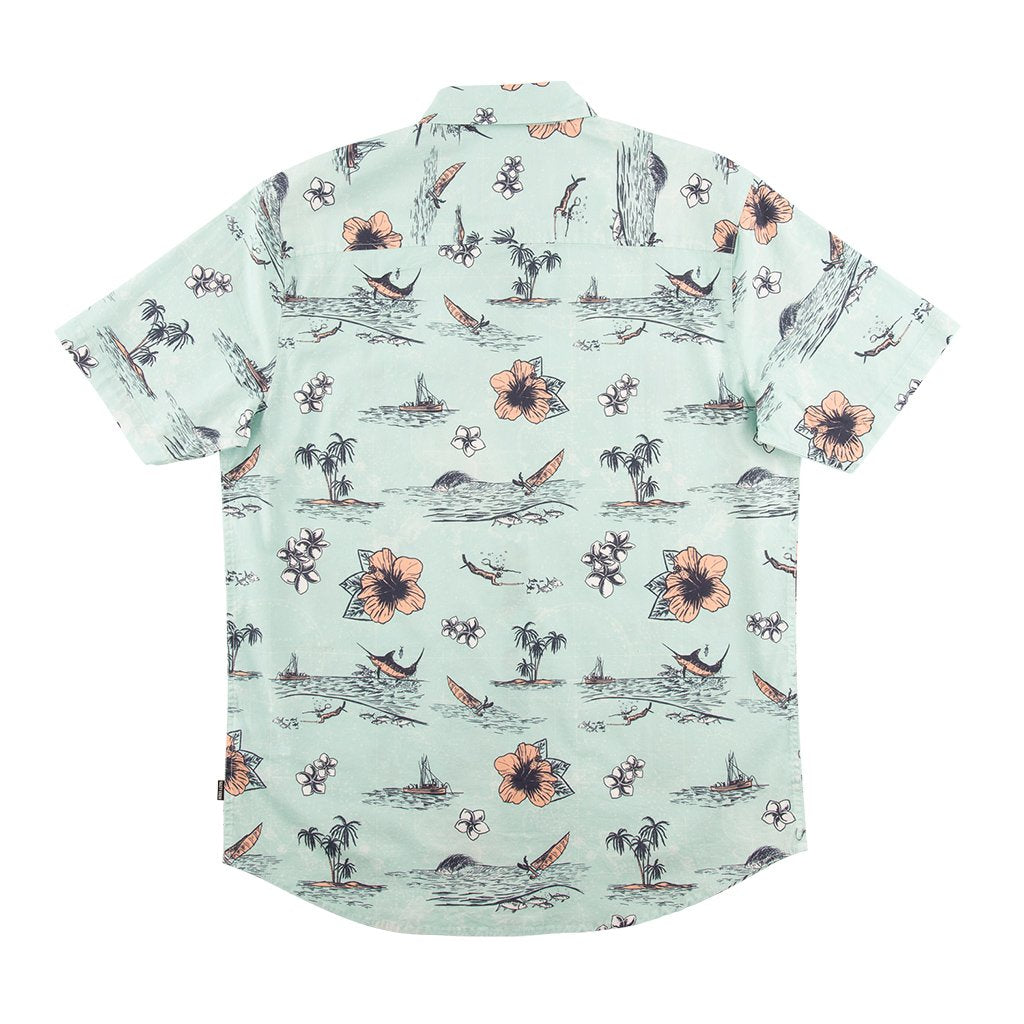 Salty Crew Tropic Sails Button Up Shirt - 88 Gear