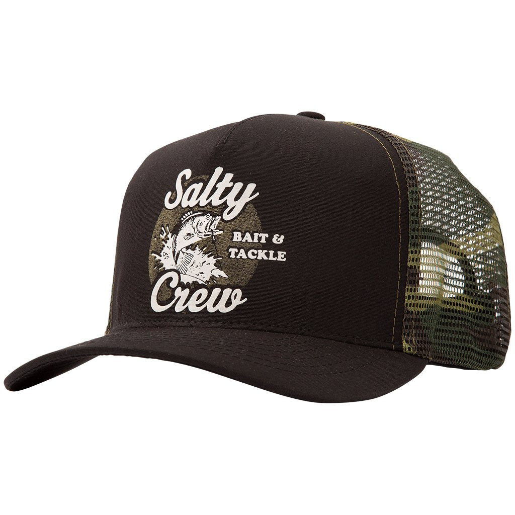 Salty Crew Bait and Tackle Trucker Hat - 88 Gear