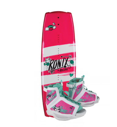 Ronix August Girls Wakeboard Package - 88 Gear