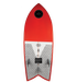 Ronix Koal Technora Powerfish+ Wakesurf Board 2019 - 88 Gear