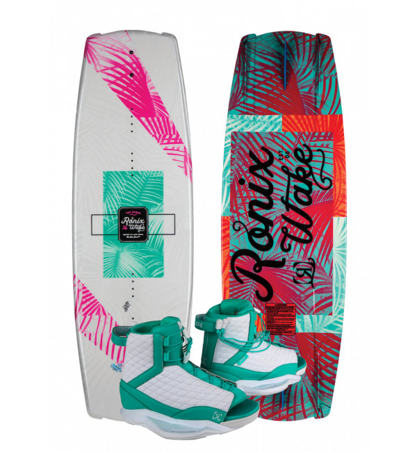 Ronix Krush Women's Wakeboard Package 2019 - 88 Gear