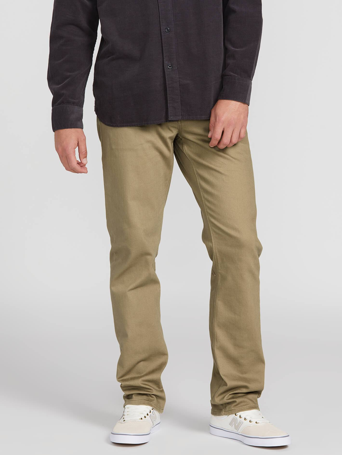 Volcom Solver 5 Pocket Slub Modern Fit Jeans - 88 Gear