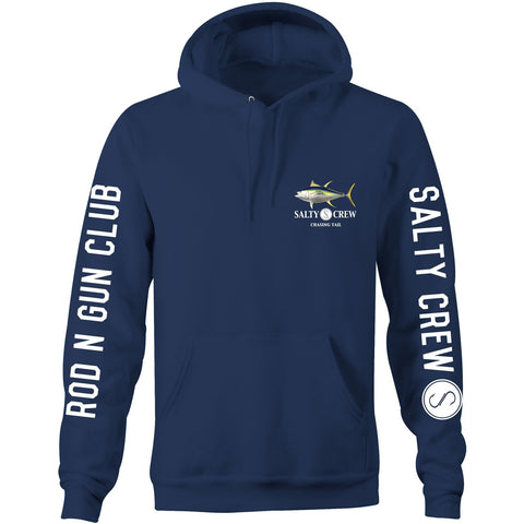 Salty Crew Navy Pull Over Hoodie